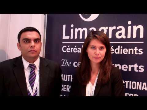 Officials from LIMAGRAIN speak to journalist WILLIAM FARIA