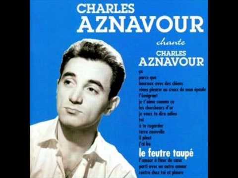 Charles Aznavour - Parti Avec Un Autre Amour