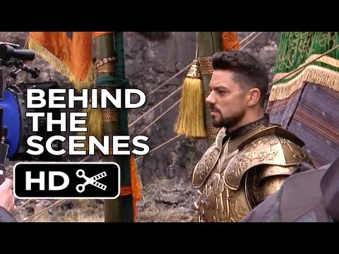 Dracula Untold BEHIND THE SCENES - Set Visit (2014) - Luke Evans Fantasy Movie HD