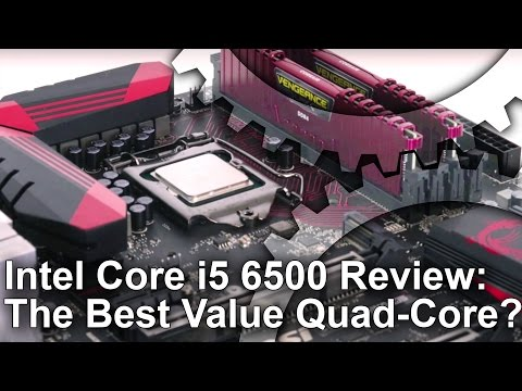 Core i5 6500 Review: Gaming Performance. Overclocking and More