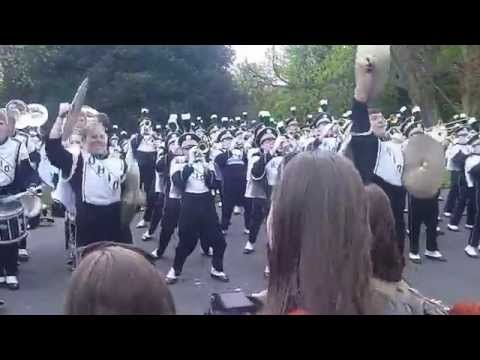 Marching 110 in Dublin - Light Up