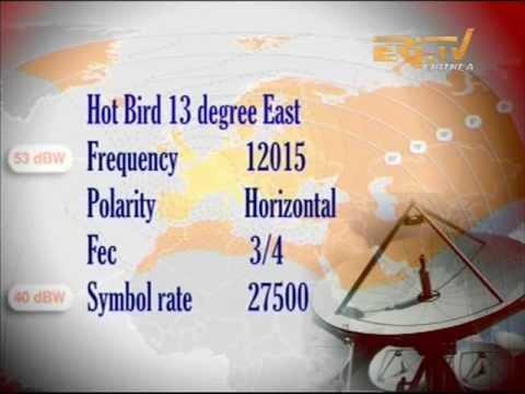 Eri Tv On Hot Bird 13 New Satellite For Europe Saturday
