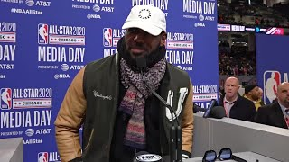 All-Star 2020 Captain LeBron James' Full Media Day Availability
