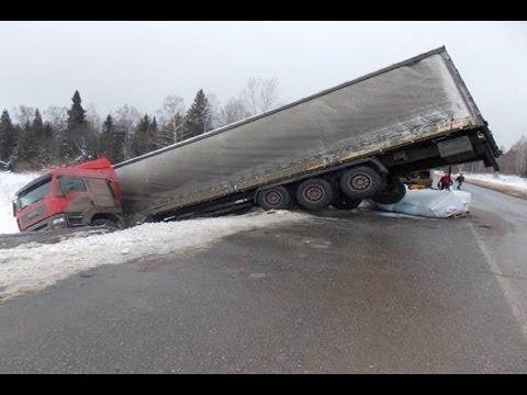 Truck Crash Compilation  October 2016 ✦ Truck accident 2016 ✦ Russian Car crash compilation