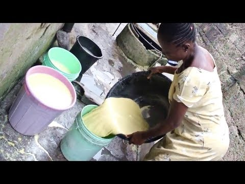 How to make Nigerian Akamu, Pap, Ogi