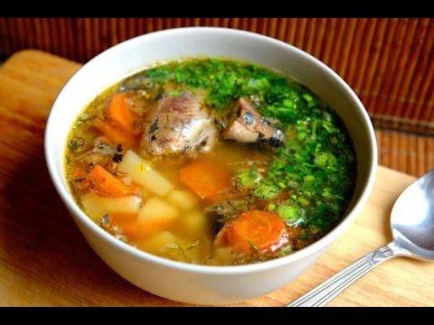 Рыбный суп из Минтая, видео рецепт