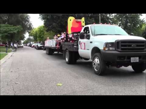 Havana High School Homecoming Parade 2013