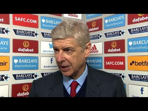 Sunderland 0-0 Arsenal - Arsene Wenger Post Match Interivew - Gunners Must Fight For Top Four