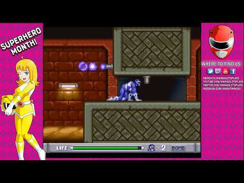 Mighty Moprhin Power Rangers: Teenagers with Attitude - PART 1 (HD) SNES
