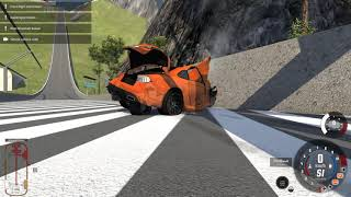 360 KMH AUFSCHLAG! I BeamNG Drive Crashes #1426 [Alpha]