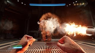 Doom 2016 NO SUIT FISTS ONLY Gameplay