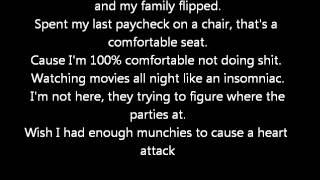 The Kickdrums ft. MGK - My Life (Lyrics)