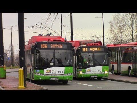Lublin Trolleybus Ride Lublin Trolejbusowy Przejazd Route 156 Felin ⇒ Chodźki Szpital