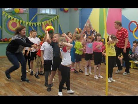 Спортивный праздник в детском саду № 37 п. Менделеево