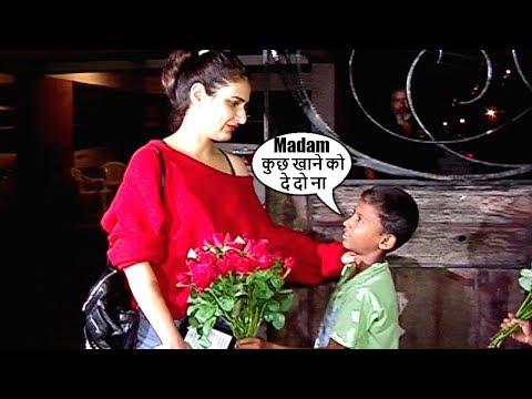 Beggar BEGS Fatima Sana Shaikh For Food...What Fatima Does Next Will SHOCK You thumbnail