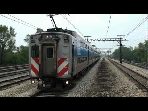 This is a video of Metra Electric and CN Chicago Subdivision footage on Chicago's far Southeast Side. Both lines are ex. Illinois Central. The Metra Electric line is entirely electrified and...