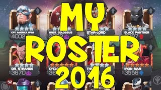 MY ROSTER 2016 | MARVEL: Contest of Champions (iOS/Android)