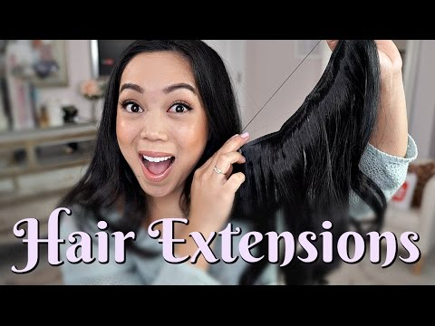 Affordable & Easy Hair Extensions? Secret Hair Extension Double Volume Review - itsjudytime