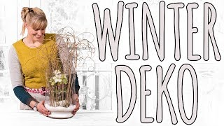 WINTER DEKO - DIE WINTERROSE - DIY
