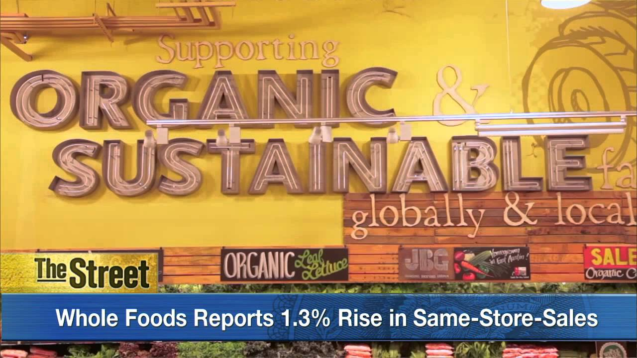 Whole Foods Market Stock Sliding After Posting Earnings Miss