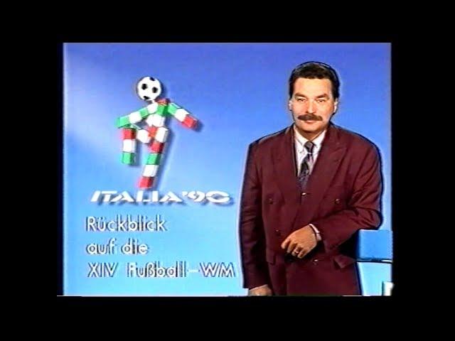 WM 1990 - Zusammenfassung/Rückblick (ARD Sportschau) - YouTubeDE-Version (ohne GEMA-Musiktitel)