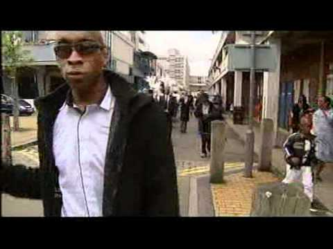 Mark Duggan's funeral - (ITV1 London Coverage)