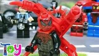 sy 슈퍼리어 스파이더맨 옥토버스 박사  레고 짝퉁 미니피규어 Lego knockoff superior spider man minifigure