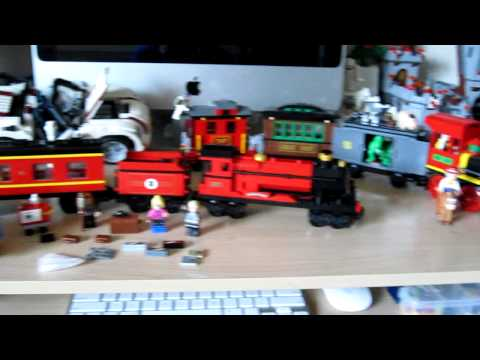 Lego Train Crash Thomas The Tank Engine Bnsf Freight