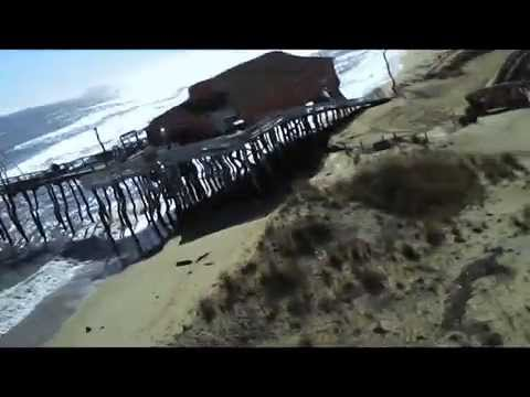 Rodanthe Pier - Storm Damage and Repairs - Winter Storm 2015