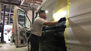 Collision Repair 2016 Ford Transit