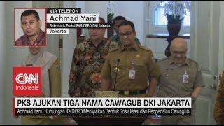 PKS Ajukan Tiga Nama Cawagub DKI Jakarta