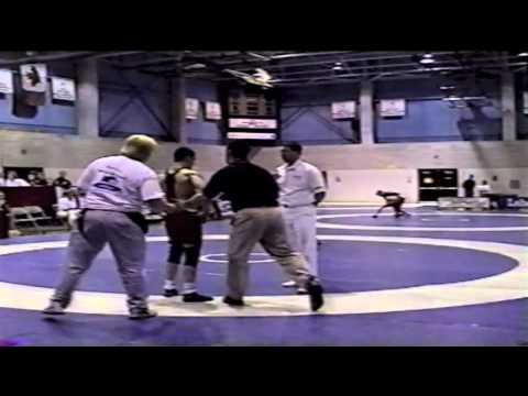 2000 Junior National Championships: 69 kg Chris Harada vs. Joel Powell
