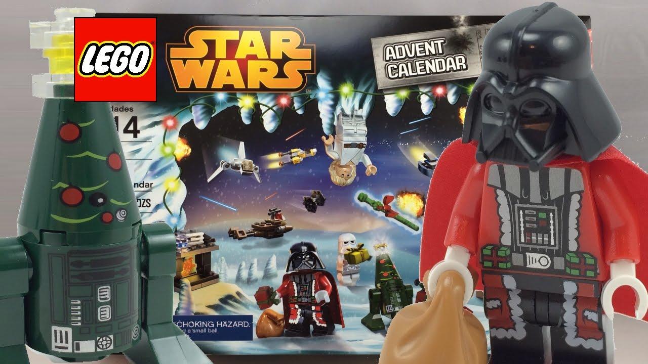 LEGO Star Wars 2014 Advent Calendar Review 75056 - YouTube