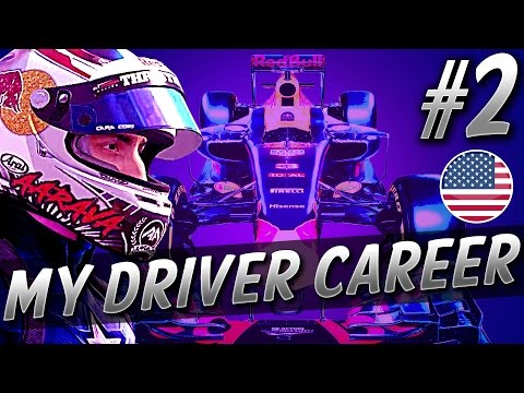 HECTIC OPENING LAP! - F1 MyDriver 2018 CAREER (S4 PART 2: USA)