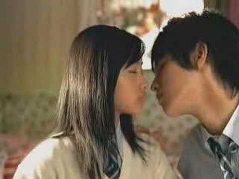 Pocky Commercial- Kiss