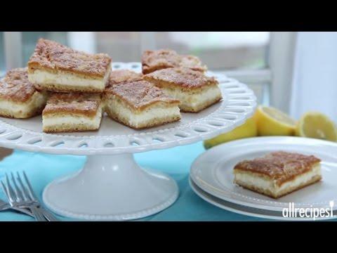 Dessert Recipes - How to Make Lemon Cream Cheese Bars
