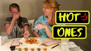 Hot Ones With the TWINS
