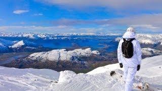 New Zealand | Treble Cone Ski Resort (Opening Day 2011)