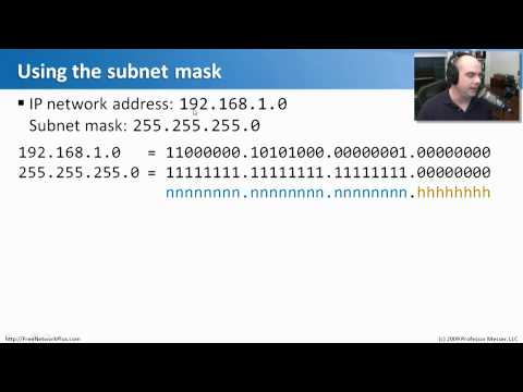 Subnet Masks - Part 1 - CompTIA Network+ N10-004: 1.4