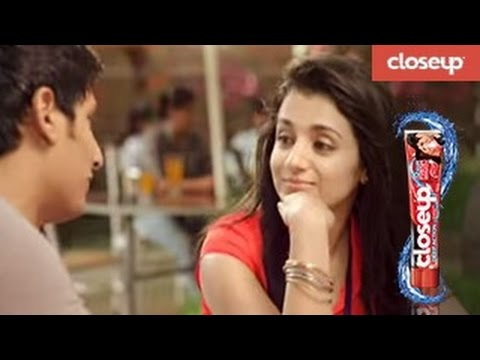 Jiiva And Trisha For Closeup And Chirunavvula Chirujallu- Telugu video