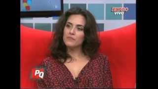 Julieta Diaz en Pura Quimica (17-08-2012)