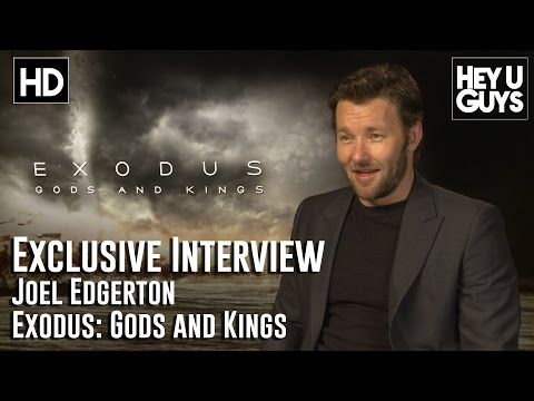 Joel Edgerton Interview - Exodus: Gods and Kings