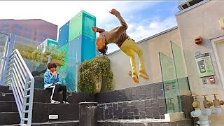PARKOUR TRAINING WITH AYO & TEO