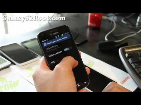 How to Get Free Wifi Tether on ICS T-Mobile Galaxy S2 SGH-T989!