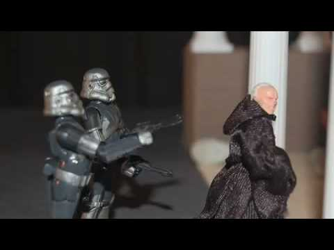 The Republic - Using Star Wars Action Figures (Stop Motion)