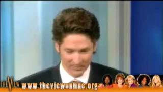 Pastor Joel Osteen on The View 11/04/2009 Part 2 HD