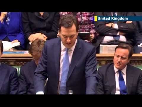 UK government announces ambitious 2013 budget as Osborne claims: 'austerity is working'