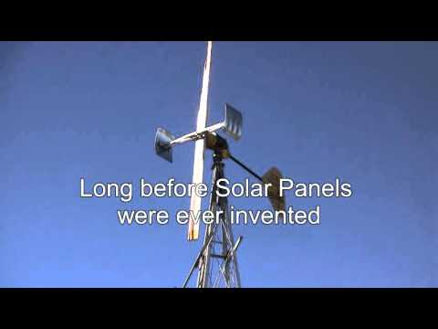 Wincharger wind turbine out lasts solar panels