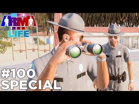 Arma 3 Life Police #100 - Hour Long Special!