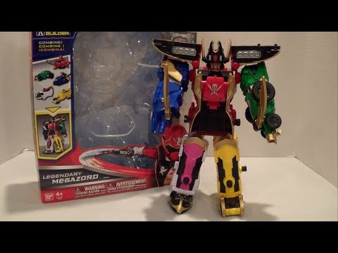 Legendary Megazord Review [Power Rangers Super Megaforce]